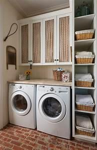 Lave Linge Petit Espace : 1001 id es comment am nager sa buanderie fonctionnelle ~ Premium-room.com Idées de Décoration