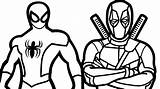 Deadpool Chibi Drawing Coloring Pages Little Getdrawings sketch template