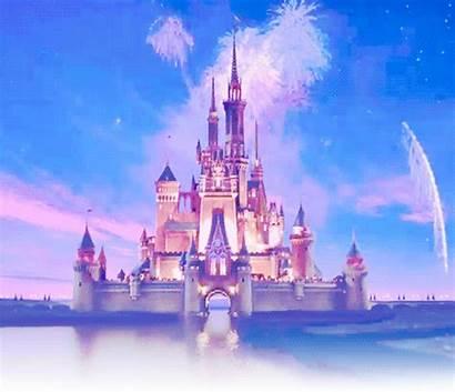 Castle Disney Princess Disneyland Magic Background Cinderella
