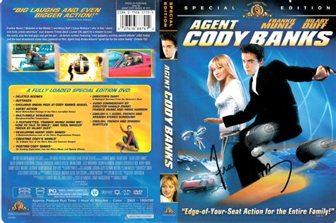 frankie muniz last movie frankie muniz autographed agent cody banks dvd cover