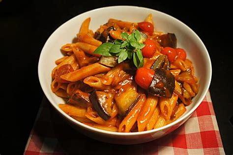 recette pates aux aubergines faciles