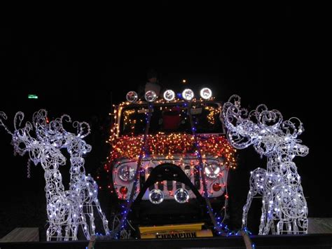 jeep christmas parade pin by michelle sawula on big daddy pinterest