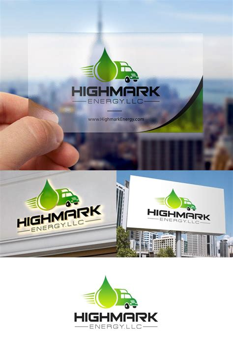 business card design  highmark energy businesscards