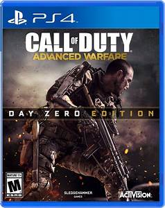 Call Of Duty Advance Warfare 2014 Ps4 Dvd Cover Photo ...