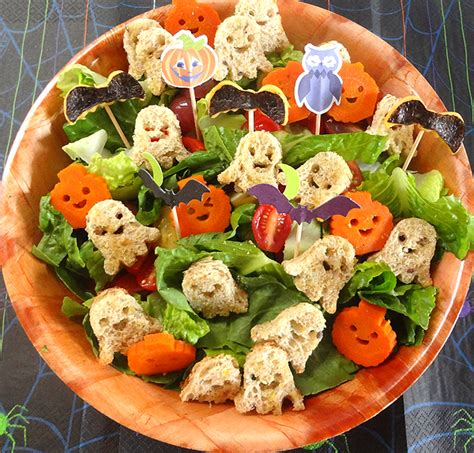 Japanese Pumpkin Salad Recipe by Halloween Party Idea For Kids Working Mom S Edible Art