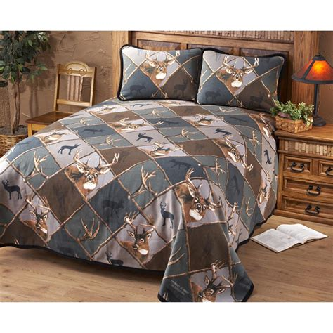 jq outdoors deer bedding set camo  quilts sets collections  sportsmans guide