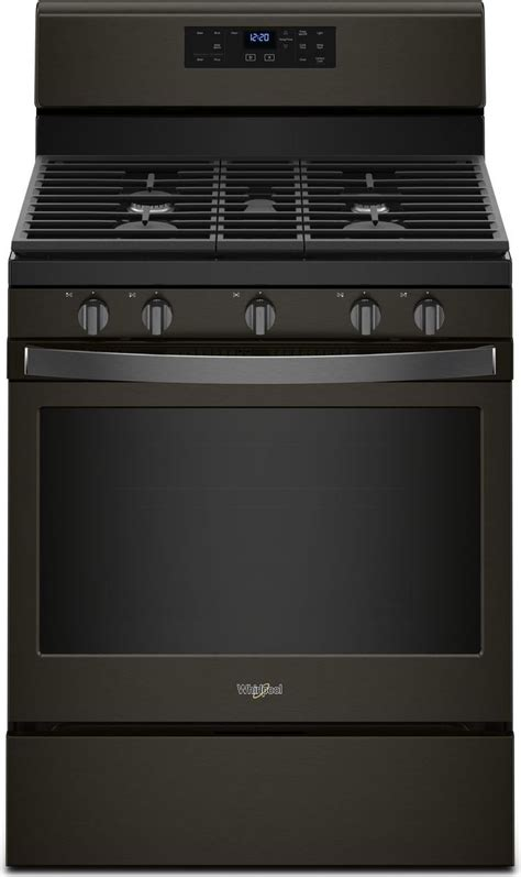 whirlpool  piece appliance package  wrfsdhv refrigerator wfgshv gas range