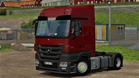 renault truck premium mercedes mp3 actros 1844 v2 ets2 mods
