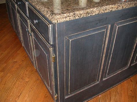 painting kitchen cabinets black distressed tips for distressed kitchen cabinets new home design 7333