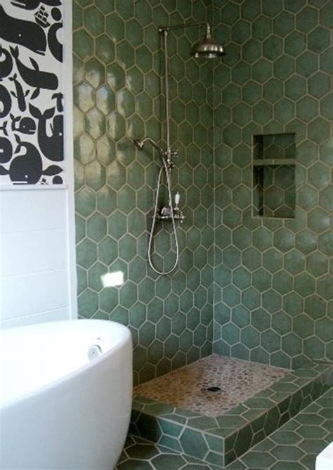 dark green bathroom tile ideas  pictures
