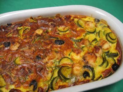cuisine courgette clafoutis aux courgettes supertoinette la cuisine facile