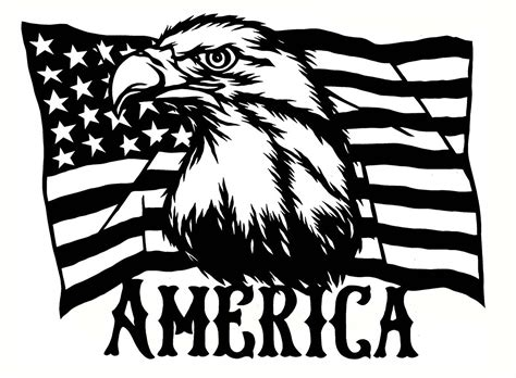 American Flag And Eagle Svg – 236+ SVG PNG EPS DXF in Zip File