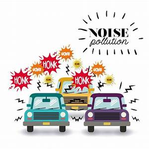 Noise Pollution Design  U2014 Stock Vector  102252736