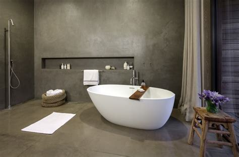 + Concrete Bathroom Flooring Designs, Ideas