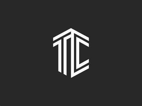 tc logo letters monogram logo  sergii syzonenko  dribbble