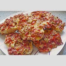 Superschnelle Pizzabrötchen In 2019  Fingerfood, Snacks