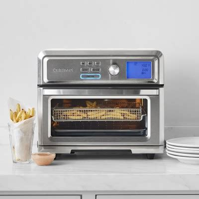White Digital Toaster Oven by Cuisinart Digital Air Fryer Toaster Oven Williams Sonoma