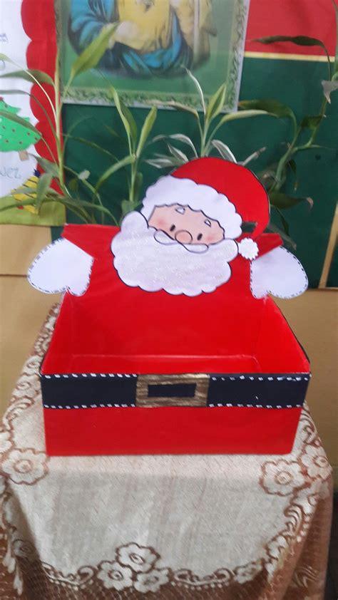 caja decorada  regalos del amigo secreto trabajos