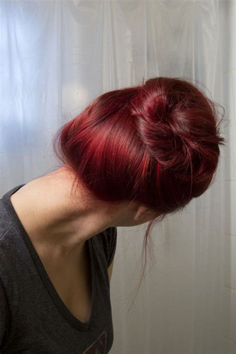How To Dye Your Brown Hair Red Without Bleach If Youre In