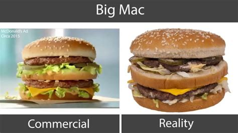 fast cuisine big mac big mac vs ad pixshark com images galleries