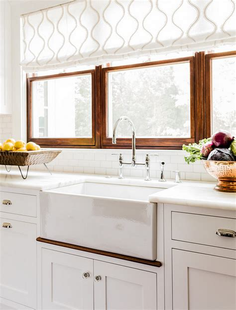 kitchen sink window ideas choosing window treatments for your kitchen window home
