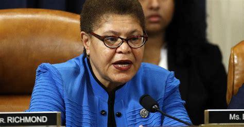 Congresswoman Karen Bass says police reform bills will be ...