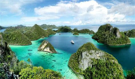 raja ampat papua wisata alam bawah laut  wow