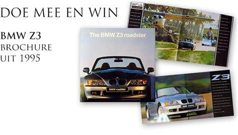 Prijsvraag #9  Win Een Originele Bmw Z3 Brochure Bond