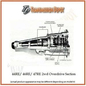 Dodge 44re Transmission Diagram by 44re 46re 47re A500 A518 Remanufactured Dodge Overdrive