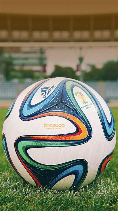 Football Iphone Wallpapers Cup Galaxy Soccer Brazuca