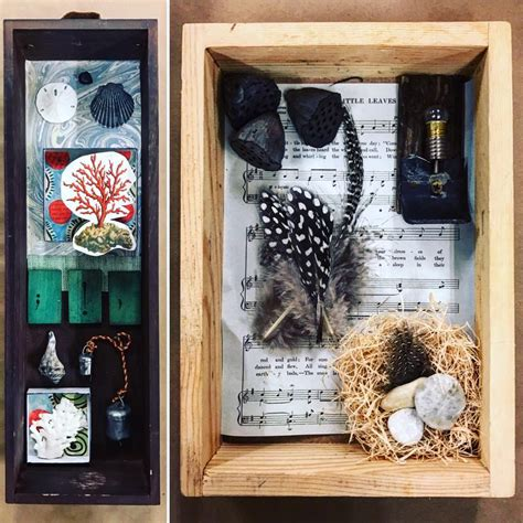 carriage house arts  crafts joseph cornell box project
