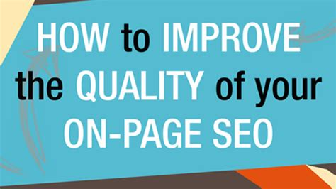 How Improve The Quality Your Page Seo
