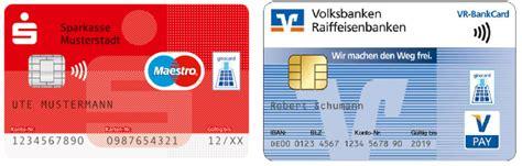 kontaktloses zahlen das girocard update ec terminal