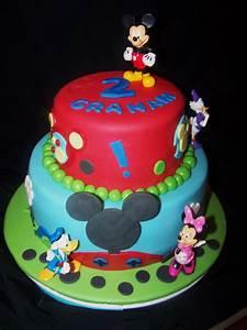 New Mickey Mouse Fondant Cakes - Fondant Cake Images