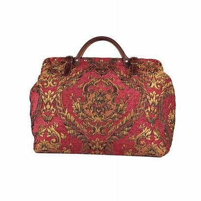 Victorian Queen Elizabeth Traveler Carpet Bag Bags