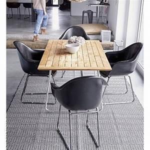 Tapis Noir Et Blanc Scandinave : tapis scandinave noir et blanc braid liv interior 55 x 120 cm ~ Teatrodelosmanantiales.com Idées de Décoration