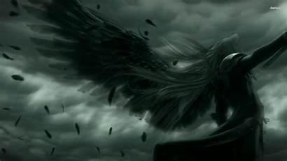 Angel Fallen Warrior Dark Wallpapers Angels Guardian