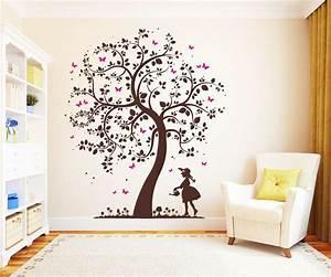 Wandtattoo Kinderzimmer Schmetterlinge : die besten 17 ideen zu baum wandtattoo auf pinterest bild baum stammbaumwand und wandtattoos ~ Sanjose-hotels-ca.com Haus und Dekorationen