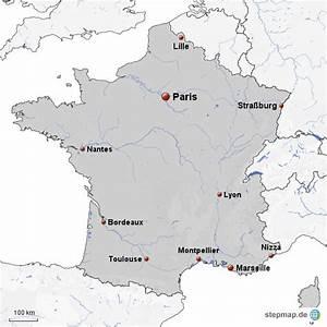 Schöne Städte In Frankreich : stepmap 10 gr te st dte frankreichs landkarte f r frankreich ~ Buech-reservation.com Haus und Dekorationen