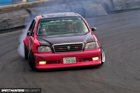 japanese drift cars think pink drifting a japanese cop car speedhunters