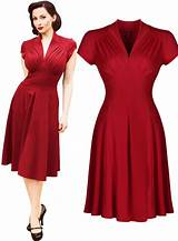 Vintage style womens cocktail dresses
