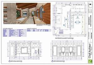 Chief architect interior software for professional for Bathroom construction plans