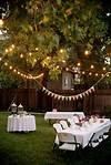 Domestic Fashionista: Backyard Birthday Fun--Pink outdoor garden party ideas