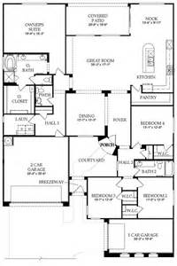 Floor Plan For New Homes Floor Plan New Home In Waters At Ocotillo Pulte Homes Floor Plans