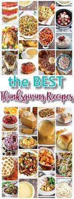 the best thanksgiving dinner favorite menu recipes classics improved and traditional