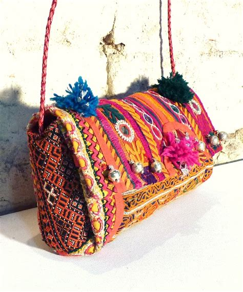 indian boho bag  bells latika  stellar boutique