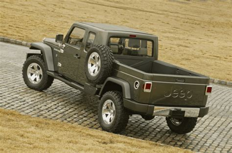 new jeep concept truck jeep gladiator concept truck