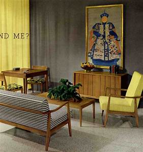50s and 60s living room favorite chinese emperors retro With 50s living room furniture