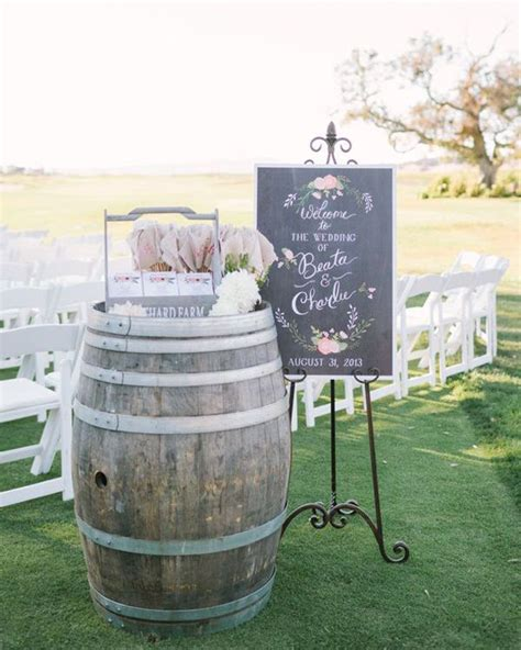 wine barrel wedding details southbound bride