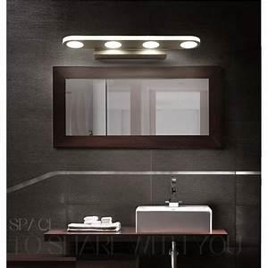 luminaire led salle de bains With luminaire au dessus miroir salle de bain